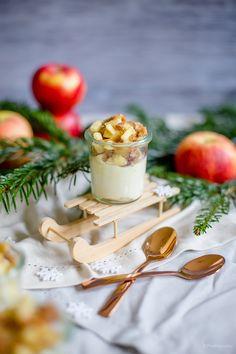 Weihnachtsdessert: Apfel-Spekulatius-Dessert mit Mascarpone-Quark-Creme und Eat a Rainbow   Alles und Anderes