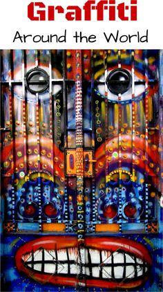 Graffiti and Street Art from Around the World - travel around the world - visit the amazing art work while walking around the neighborhoods - SoloTripsAndTips.com