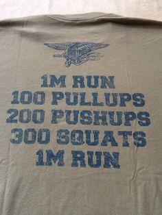 Windy City CrossFit Back. 2013 Murph Commemorative T-shirt.