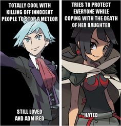 It's vice-versa for me. I honestly love Zinnia and how well she was portrayed, but I'll be happy if he was cut from the remake...