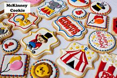 Circus cookies | Cookie Connection                                                                                                                                                                                 More