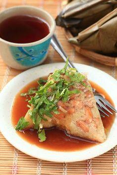peanut zongzi (rice dumpling) | Taiwanese Food