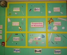 Properties of Materials Year 3 » Classroom Displays