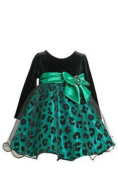 Bonnie Jean® Animal Print Dress Toddler Girls