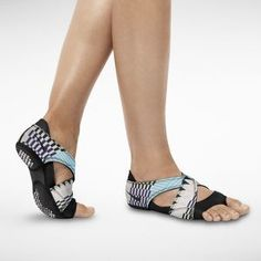 The Nike Studio Wrap. Just got these to help with the breakage on my feet from the Kickboxing mats. Hope they help!