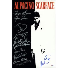 Scarface 11x17 Autographed Movie Poster (PSADNA)