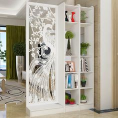 Clever Room Divider Ideas To Optimize Your Space - Engineering Discoveries Glass Partition Designs, Living Room Partition Design, Living Room Divider, Living Room Tv Unit Designs, Ceiling Design Living Room, Home Room Design, Home Decor Bedroom, Room Decor, Divider Ideas
