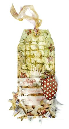 From Karolina Stopyra, aka Drycha, in Warsaw, Poland. Eye Products, Warsaw Poland, Handmade Tags, 3rd Eye, Vintage Tags, Vintage Shabby Chic, Card Maker, Christmas Tag, Gift Tags