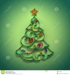 Décoration De Conifère D'arbre De Noël Quilling - Télécharger parmi plus de 48 Millions des photos, d'images, des vecteurs et . Inscrivez-vous GRATUITEMENT aujourd'hui. Image: 28058973