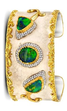 Victor Velyan gold and silver bracelet