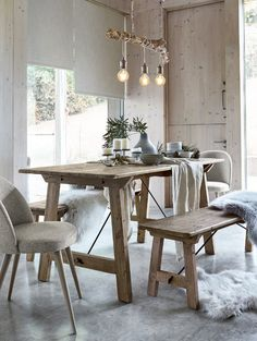 This stylish Christmas dining range is perfect for all those hearty dinners and memorable get-togethers. My Home Design, Home Interior Design, Room Interior, Open Plan Kitchen Diner, Sunroom Furniture, Home Decor Uk, Dining Room Design, Kitchen Decor, Kitchen Ideas