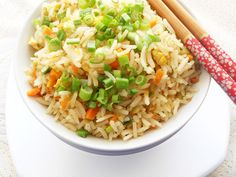Cooking Is Easy: Easy Fried Rice...step by step.