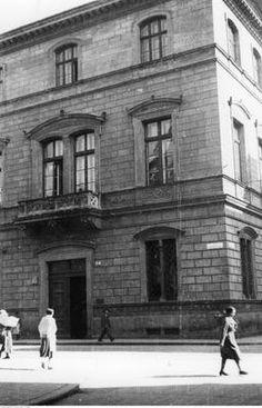 Gmach Polskiej Akademii Umiejętności, między 1919-1939, Kraków