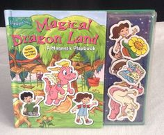 Magnetic Play Book: Magical Dragon Land by RH Disney Staff Other) for sale online Dragon Tales, Magnets, Cartoons, Childhood, Play, Comics, Book, Disney, Cartoon