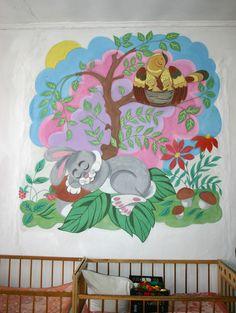 Разрисованые стены моего детского сада