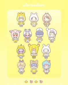 Rose Quartz Serenity, Carat Seventeen, Cartoon Fan, Hoshi Seventeen, Seventeen Wallpapers, T Art, Cute Chibi, Kpop Fanart, Aesthetic Anime
