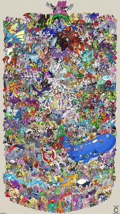 How many Pokémon can you name?
