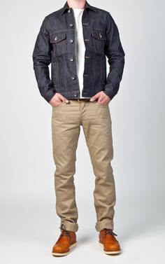 CULTIZM - Carefully selected menswear since Shop over 100 brands in our online shop. Smart Casual Menswear, Men Casual, Denim Jacket Men, Men's Denim, Men Shorts, Denim Jackets, Fashion Illustration Face, Teenage Boy Fashion, Men Dress Up