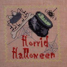 Halloween Biscornu