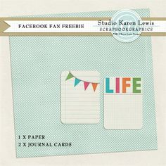 Tiny kit freebie from Karen Lewis Designz - You have to scroll down the FB page and hunt for it.