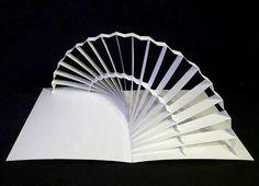 Paper pop up sculpture