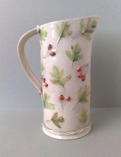 Флористическая керамика Sue Dunne - Ярмарка Мастеров - ручная работа, handmade