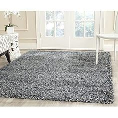 3' x 5' Premium Area Rug Carpet Shag 60 x 36 x 1.5 Inches Living Room Home Decor #ShagCollection #Contemporary