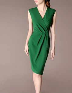 Dress for Women, Evening Cocktail Party On Sale, Midnight Green, polyestere, 2017, 8 P.A.R.O.S.H.