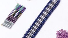 As you are doing bead looming, it can easily happen where a weft thread accidentally misses going over a warp thread and the result is a dropped bead, or a bead that has fallen out. This is easy to repair and in this video you will see how to add that bead back in place so it looks like it never fell out.