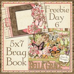 Scrapbooking TammyTags -- TT - Designer - Just So Scrappy, TT - Item - Quick Page, TT - Style - Brag Book