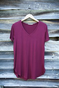 Wear all day every day...no matter the season! Our v-neck Timeless tee in…