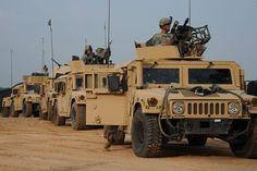 Military Humvee | High Mobility Multipurpose Wheeled Vehicle (HMMWV)