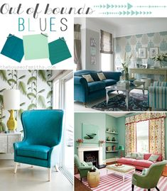 2013 Home Trends We Love - Out of Bounds Blues
