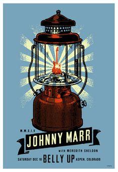 Scrojo Johnny Marr Poster