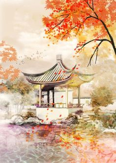 painting subjects popular painting subjects painting subjects subjects subjects for beginners subjects from china subjects ideas subjects that sell subjects used by china painting subjects Japanese Painting, Chinese Painting, Fantasy Kunst, Fantasy Art, Anime Kunst, Anime Art, Art Asiatique, China Art, Anime Scenery