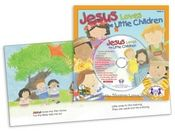 Jesus Loves the Little Children    Jesus Loves The Little Children and Jesus Loves Me celebrate the Biblical truth that Jesus loves, welcomes, and blesses children of all ages!    Track 1 is the story sung word-for-word so children can follow along with each page! Tracks 2 - 12 are more favorite Bible songs!  $4.99