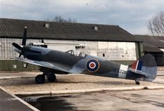 Spitfire Mk F21 LA226 used to stand outside the Vickers works at South Marston, Swindon.