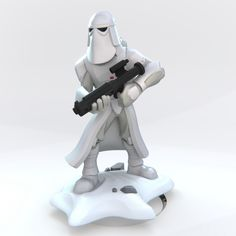 ArtStation - Disney infinity Snow Trooper , Ocean Daniel