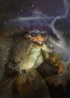Hermit (Disciples II) by SvetoslavPetrov.deviantart.com on @DeviantArt