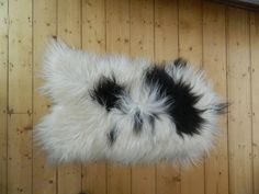 Large Natural Icelandic Sheepskin Rug  #1