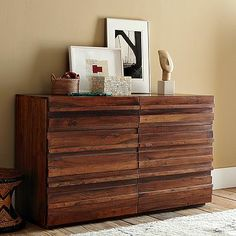 Stria 6-Drawer Dresser #WilliamsSonoma