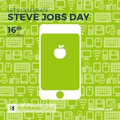 Let's celebrate Steve Jobs Day! All icons used in the series are available in our App. Imagine what YOU could create with them!  Check out our FUTURAMO ICONS – a perfect tool for designers & developers on futuramo.com #futuramo  #futuramoapps  #futuramoicons  #futuramocalendar #icondesign  #icons  #iconsystem  #pixel #pixelperfect  #flatdesign  #ux  #ui  #uidesign  #design #developer  #webdesign  #app  #appdesign #graphicdesign