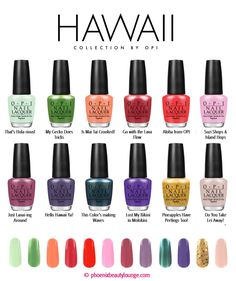 OPI Hawaii Collection - Spring Summer 2015
