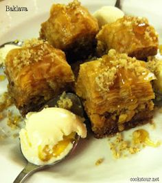 Baklava from Burger Deluxe The Cook's Tour