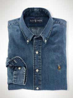 Custom-Fit Denim Shirt - Polo Ralph Lauren Custom-Fit - RalphLauren.com