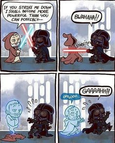 LOL. If you're a Star Wars fan you'll love this