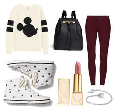 """Cozy"" by anaiagustin on Polyvore featuring Uniqlo, Keds, The Row and Tory Burch"