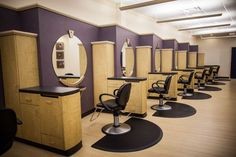 Hair Salon Stations | Haircuts & Styling Color & Highlighting Permanents & Relaxers ...