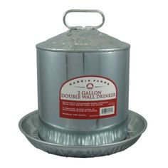 Harris Farms Double Wall Drinker, 2 gal. Capacity - Tractor Supply Online Store