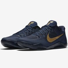 dd04bf0f174 A brand new Nike Kobe 11 EM colorway will release before the Kobe AD drops  featuring a Philippines exclusive Navy Gold colorway.